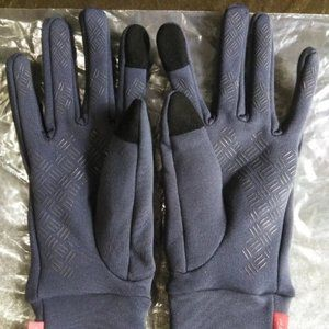 Anqier Gloves Grey